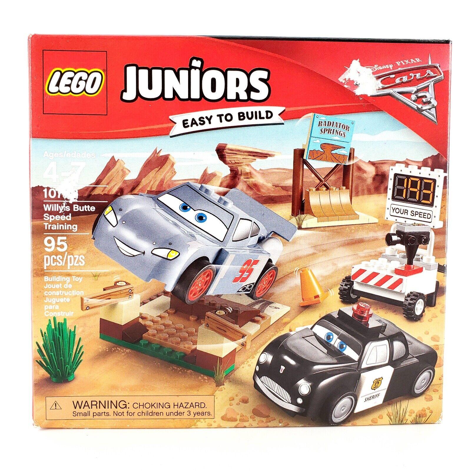 LEGO Juniors 10742 Disney Pixar Cars 3 Willy's Butte Speed