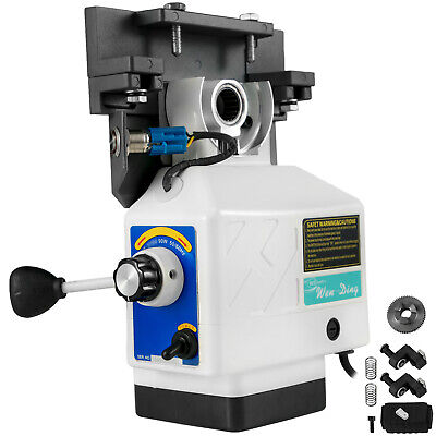 Power Feed X-axis 135lbs 200rpm Torque For Bridgeport Type Milling Machine 110v