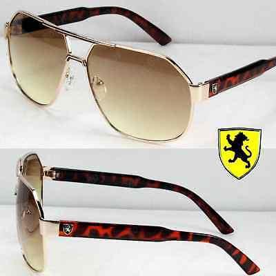 New Khan Eyewear Mens Womens Designer Fashion Pilot Sunglasses Shades Demi (Original Eyewear)