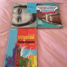 Year 11 and 9 TEXTBOOKS PLUS LITERATURE CLASSIC NOVELS Caulfield Glen Eira Area Preview