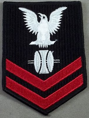 US Navy Petty Officer 2nd Class Opticalman Embroidered Sleeve Rate