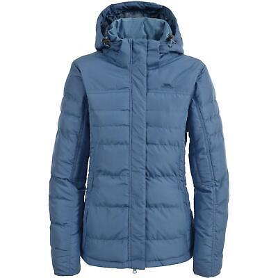 Womens Trespass Jado Quilted Padded Jacket with Inner Fleece Cuffs
