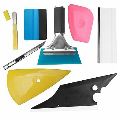 8 PCS Car Window Tint Wrapping Vinyl Tools Squeegee Scraper Applicator Kits Car & Truck Parts