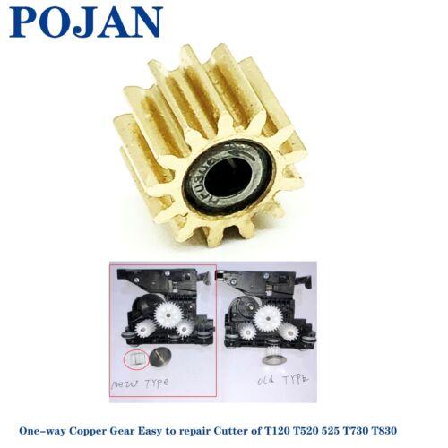 1x Copper Gear CQ890-67108 Cutter Assembly Of HP DJ T120 T520 T525 T730 T830 630