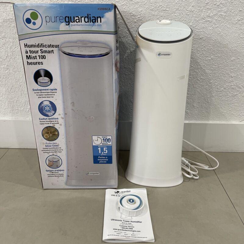 PureGuardian® H3200WAR 100-Hour Ultrasonic Cool Mist Humidifier Tower