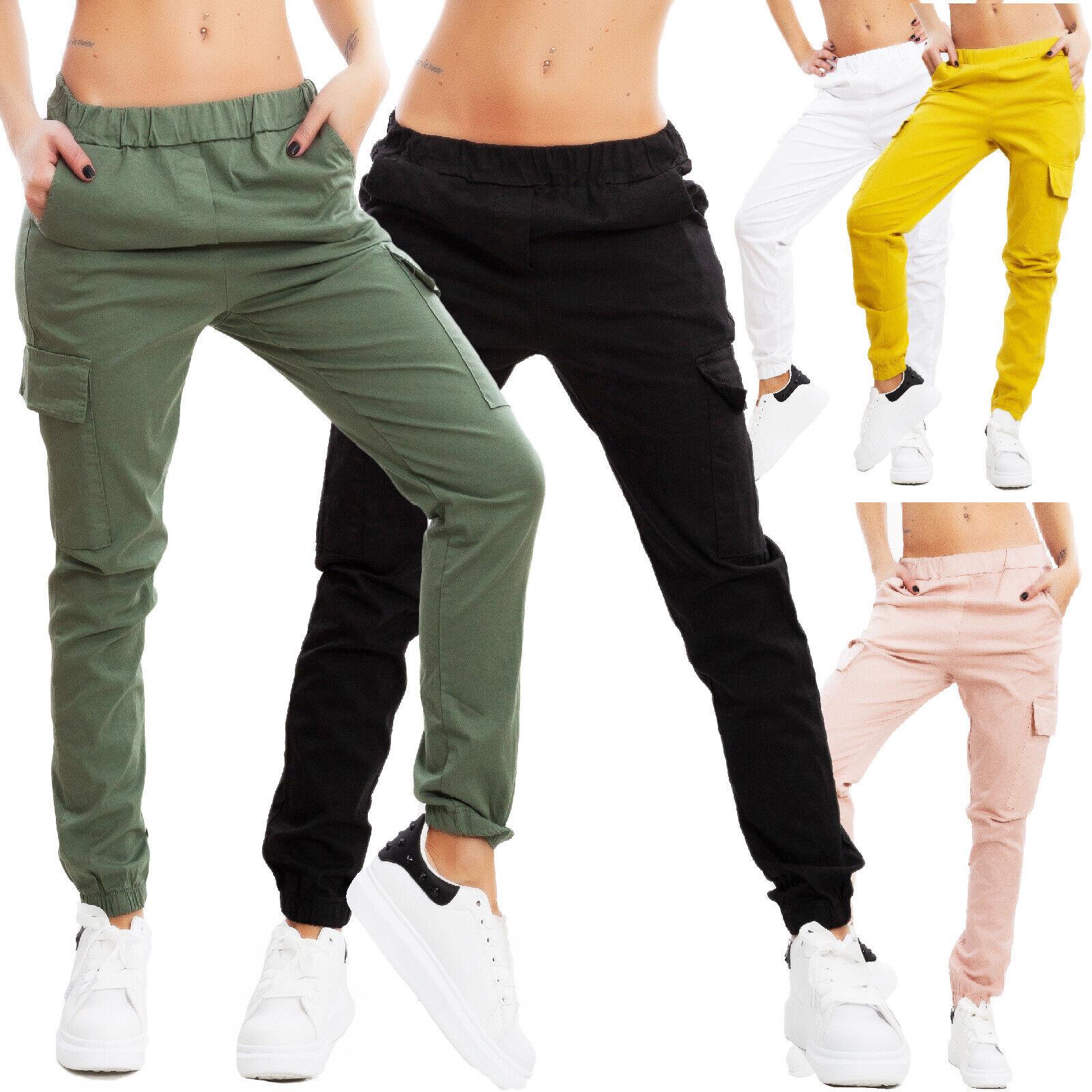 Pantalons Femme Décontracté Cargo Treillis