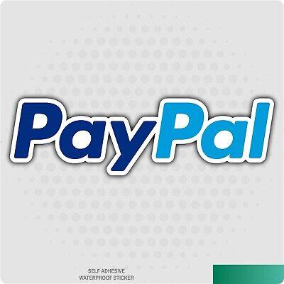 Paypal Sticker - Carvan Decalstickerbusinesspaymentshoppingonline