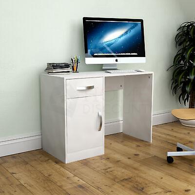 Hudson Computer Desk 1 Drawer 1 Door Laptop PC Table Home Office...