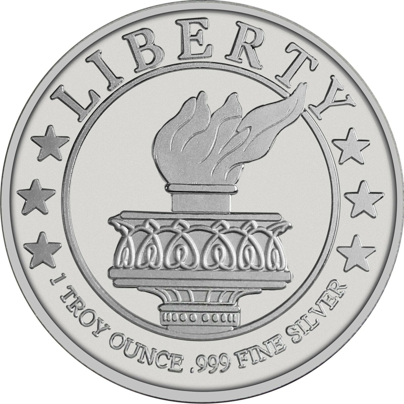 Купить Lady Liberty 1 oz .999 Fine Silver Round - LOT of 20