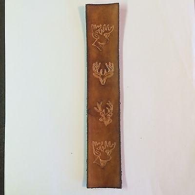 Закладка Handmade Leather Bookmark With Deer