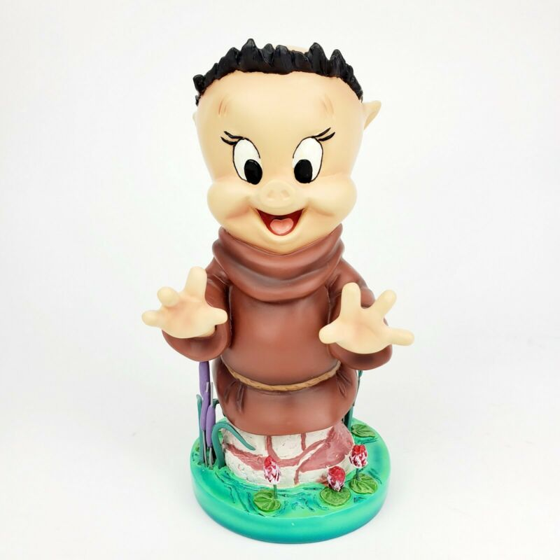 "Grand Jester Looney Tunes Porky Pig as Friar Tuck 7"" Figurine 4053362 Robin Hood"