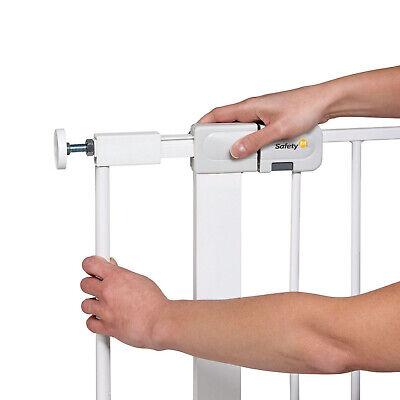 7cm Verlängerung für Türschutzgitter Treppenschutzgitter Klemmbefestigung Metall