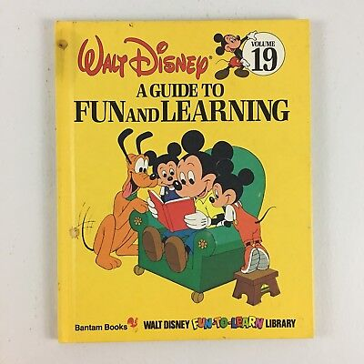 Walt Disney Fun to Learn Library Guide To Fun And Learning Volume