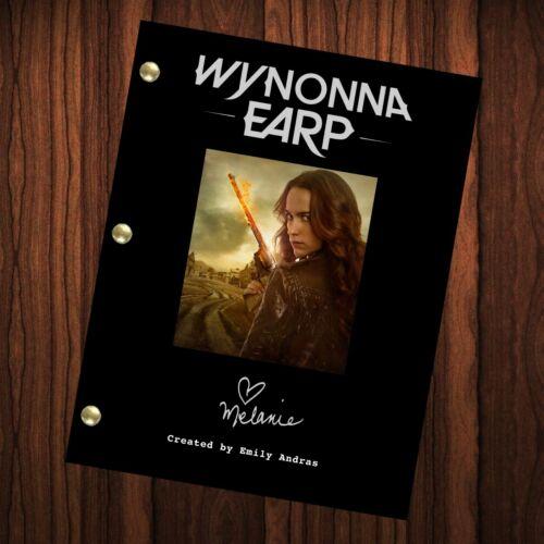 Wynonna Earp Show Script Autographed Signed Pilot Episode Melanie Scrofano
