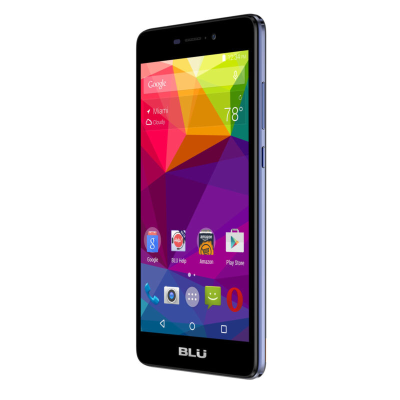 BLU Life XL 8GB Unlocked GSM 13MP 5.5'' Dual-SIM OctaCore Android 5.1 Smartphone