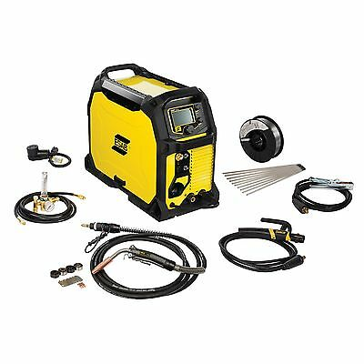 Esab Rebel Emp 235ic Migsticktig Welder And Free Helmet Bundle 0558012702