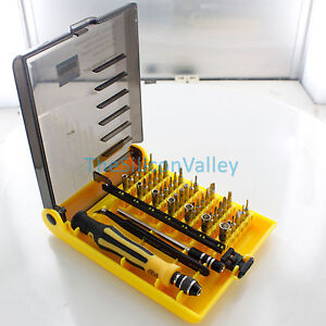 45in1 Multi-Bit Repair Tools Kit Set Torx ScrewDrivers For Electronics PC Laptop