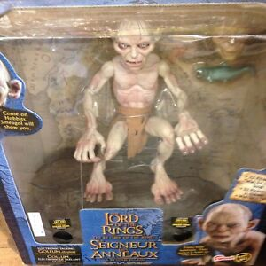 The lord of the rings figure gollum