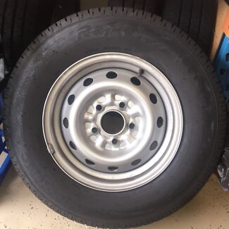 "185 R14C LT Van Commercial Tyres on 14x5.5"" Steel Wheels"