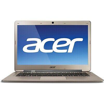 """Acer Aspire S3-391 13.3""""  Laptop - i3-2367M CPU✔4GB RAM✔320GB HDD✔Wi-Fi✔WIN 10"""