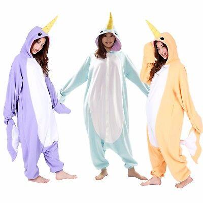 SAZAC Narwhal Kigurumi - Kids & Adults Costume from USA - Narwhal Costume