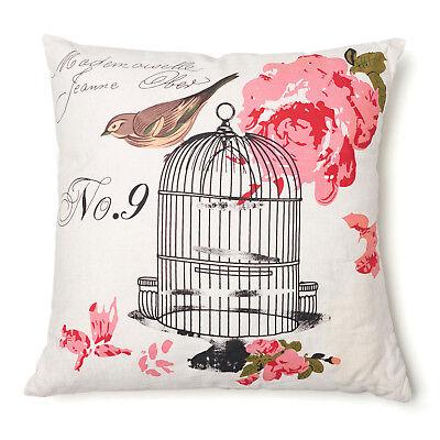Birdcage Decorative Pillow