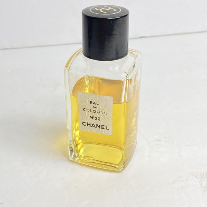 VINTAGE CHANEL COLOGNE PERFUME #22 MUSK...UNSURE IF FRAGRANCE IS THE SAME AS B4