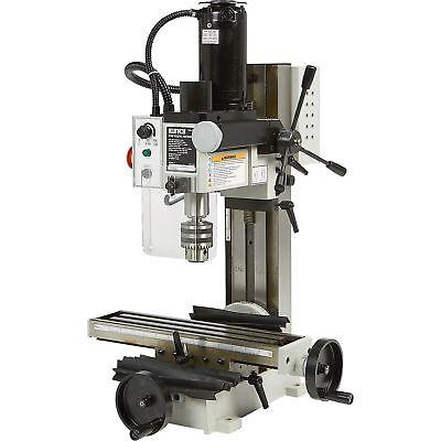 Klutch Mini Milling Machine - 110v 350 Watts 34 Hp