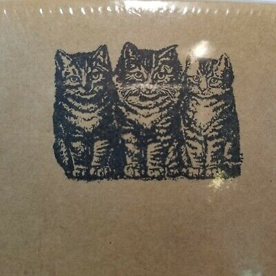 Cat Kraft Paper Stationery Set by Nature Notes Kitty Letter Writing New -EB