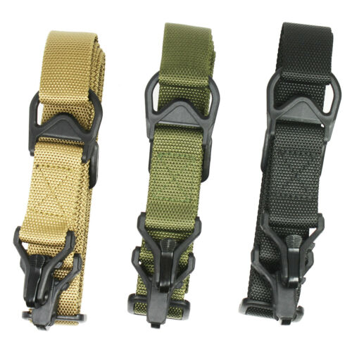Adjustable Quick Release Sling 1 / 2 Point Multi Mission for Rifle Gun Sling