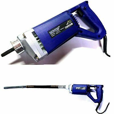 Pdr 1050W Vibrador Para Hormigón Cemento Ø35MM Portátil Eléctrico 1050