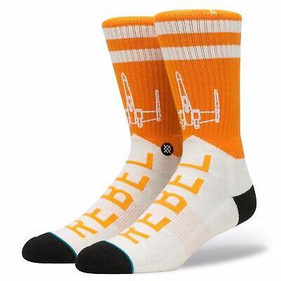 "Stance Men's Star Wars Socks ""Varsity Rebel"" Large (9-12)"