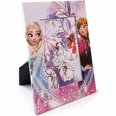 Bilderrahmen Fotorahmen Frozen Kinder Bilder Rahmen Anna Elsa Foto Disney NEU