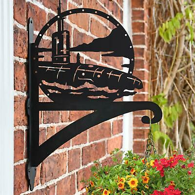 New Submarine Iron Hanging Basket Bracket - 50cm x 33cm