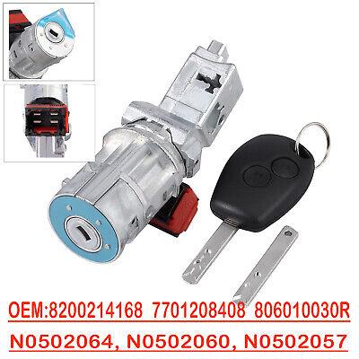 8200214168 7701208408 Ignition Lock Barrel Starter Switch Cylinder For Renault