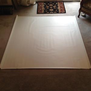 Roller Blind-Vinyl white