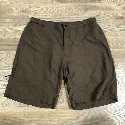Novara Cycling Shorts Mens Size Large Brown MTB Padded