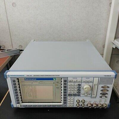 Rs Cmu200 Wopt.bluetoothaudioetc - Universal Radio Communication Tester