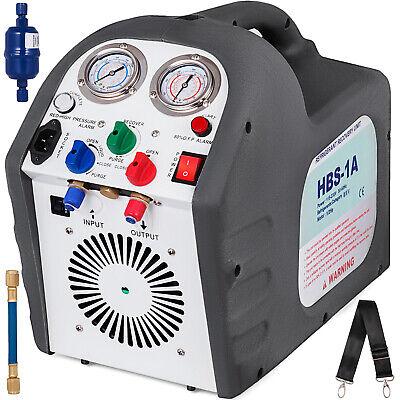 110v 60 Hz Portable Refrigerant Recovery Machine Charging Unit Hvac Liquid