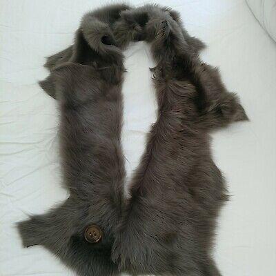 karl donoghue lambskin fur scarf
