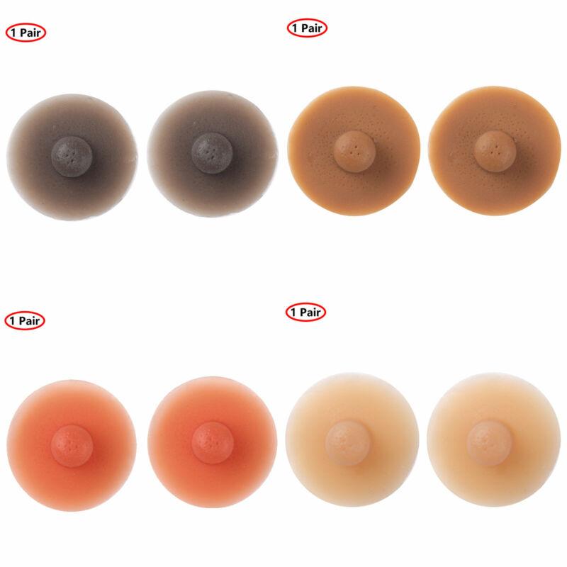 BRA PAD Pair 2 pcs Ladies LIGHT BEIGE NUDE Skin Tone Padded Insert Removable UK