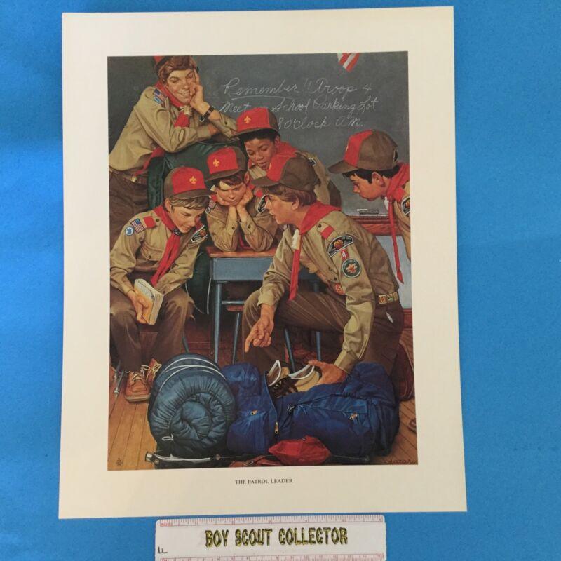 "Boy Scout Joseph Csatari Print 11""x14"" The Patrol Leader"