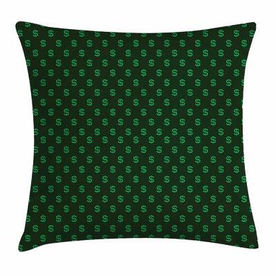 Money Throw Pillow Cases Cushion Covers by Ambesonne Home De