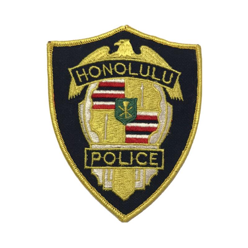 Vintage Honolulu Hawaii Police Department Shoulder Patch