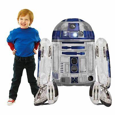 Riesiges Lebensgröße 96cm Star Wars R2D2 Rise Skywalker Heißluftballon Roboter ()