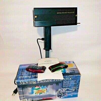 2001 Mr Christmas Moving Picture Projector All Year Outdoor Lighting System  ()