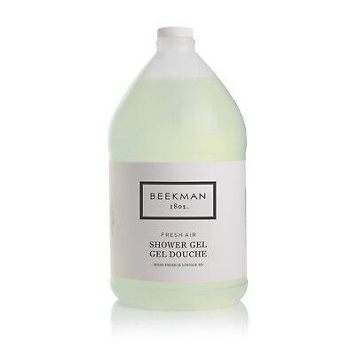 Beekman 1802 Fresh Air Shower Gel - Gallon for Dispensers - 1 gallon