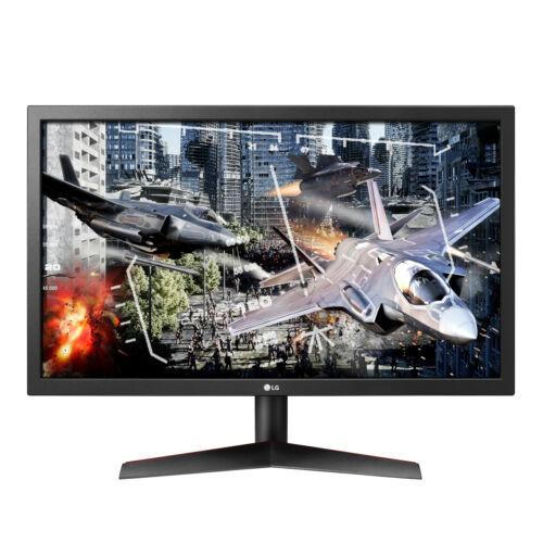 "NEW LG 24"" Full HD LED Gaming Monitor 144Hz Dynamic Action Sync Crosshair HDMI"
