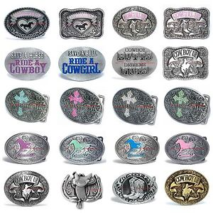 BBUM0133-COWGIRL-UP-RHINESTONE-CROSS-COWBOY-UP-RODEO-BULLFIGHTER-BELT-BUCKLE