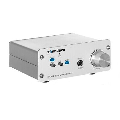 Used, Soundavo HP-DAC1 Digital to Analog Converter / Headphone Preamp DAC with USB, for sale  Shipping to India